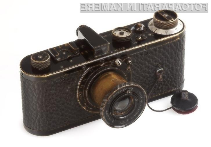 Analogni fotoaparat Leica Series-O številka 116 je trenutno najdražji aparat na modrem planetu!