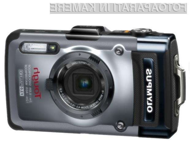Robustni digitalni fotoaparat Olympus TG-1 je skoraj nemogoče uničiti - vsaj nenamerno.