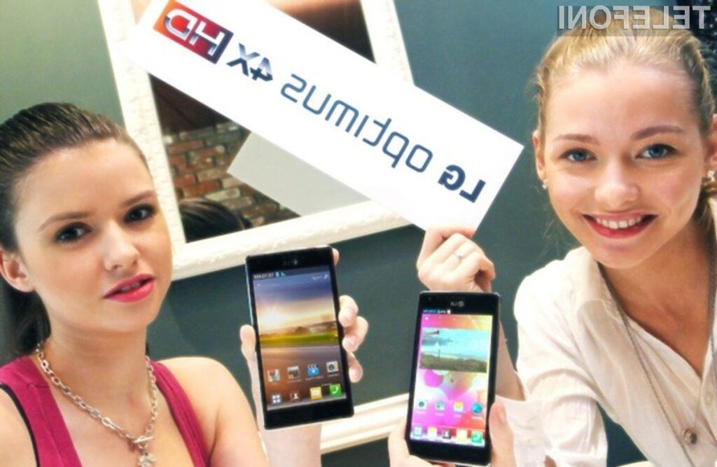 Mobilnik LG Optimus 4X HD bo zlahka opravil tudi z najtežjimi nalogami!