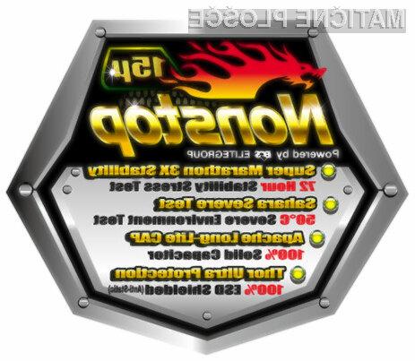 Matične plošče z oznako NonStop so grajene iz posebnih elementov, ki preprečujejo nezaželene elektrostatične učinke.