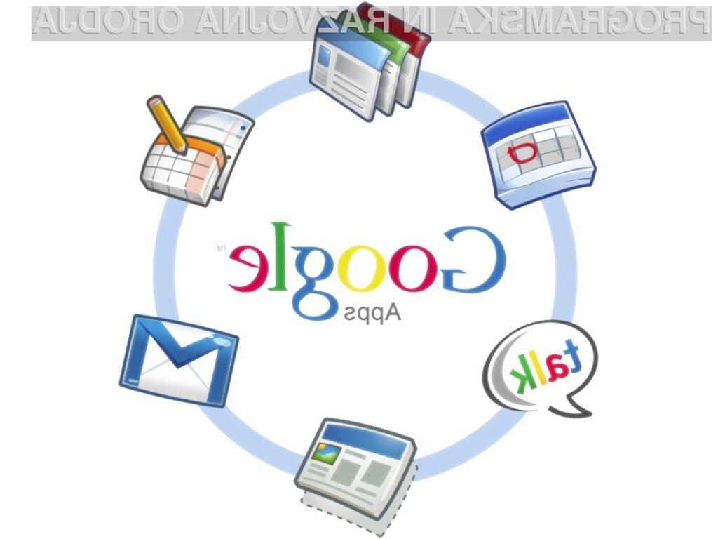 Google Apps po novem s standardom ISO 27001.
