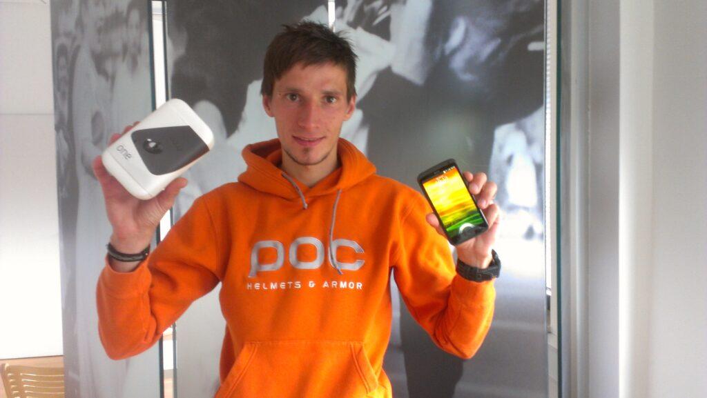 Robert Kranjec in HTC One X
