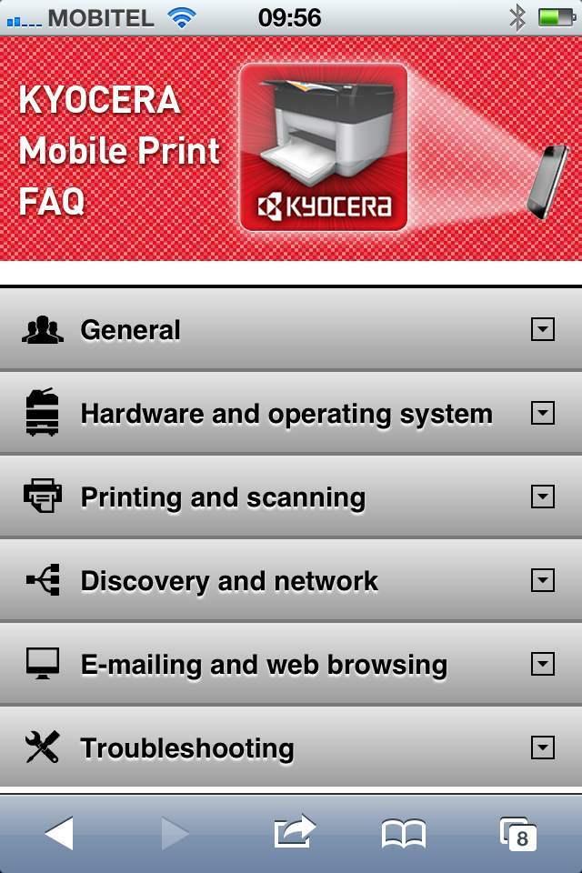 Tiskanje z mobilnimi napravami