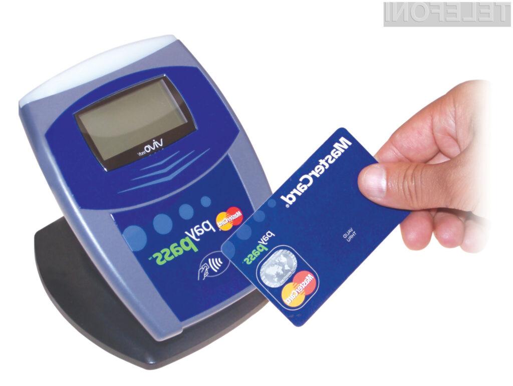 Mobilnemu sistemu plačevanja PayPass sta najbolj naklonjena Nokia in RIM.