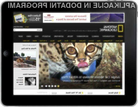 Z aplikacijo National Geographic boste lahko svoje priljubljene vsebine odslej spremljali tudi na iPhonu in iPadu.