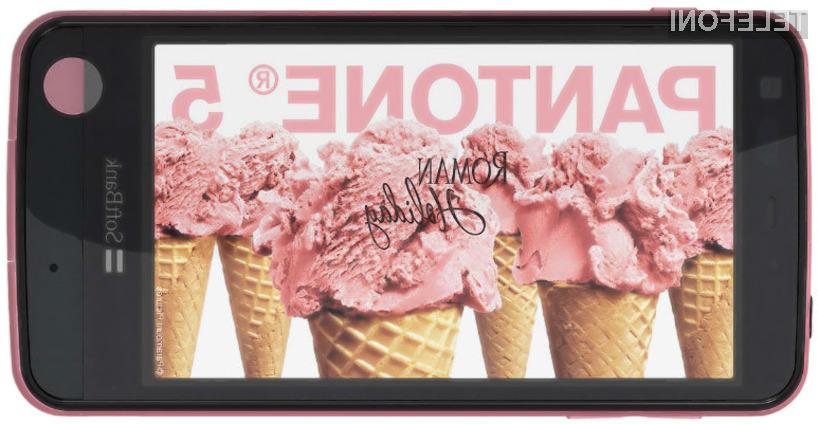 Pantone 5 je na prvi pogled povsem običajni pametni telefon, vendar pa se v njem skriva posebni merilnik sevanja.