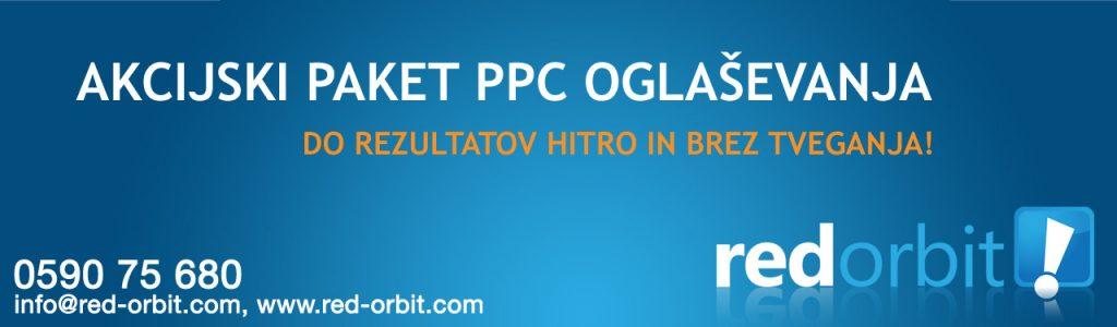 Akcijski paket PPC oglaševanja