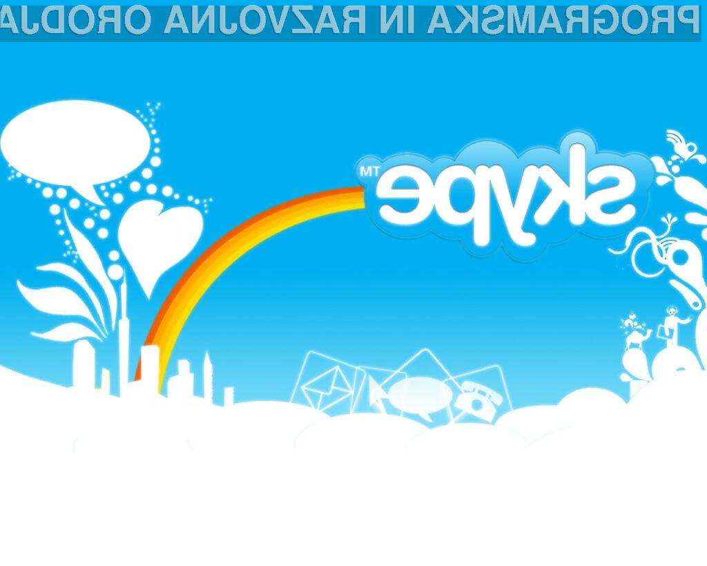 Skype se po nedavni zrušitvi celotnega omrežja, sedaj ubada še z neprijetno varnostno napako.