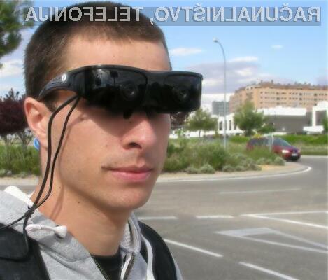 Visokotehnološka očala bodo izboljšala kakovost življenja tistim, ki imajo okrnjen vid ali težave z zaznavanjem globine prostora.