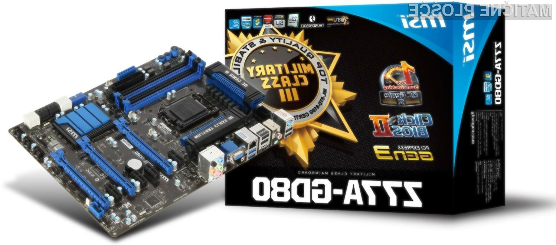 MSI-jeva matična plošča Z77A-GD80 bo omogočala povezovanje preko super hitre povezave Thunderbolt.