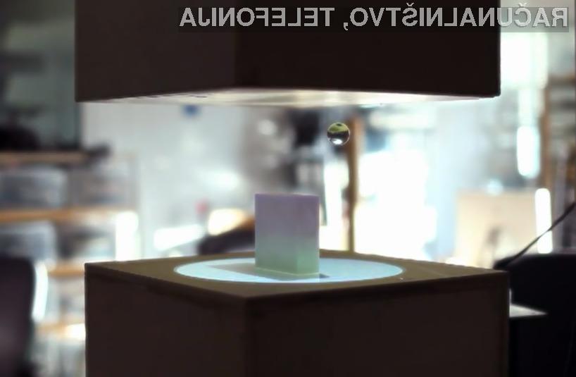 Z Leejevo tehnologijo lahko lebdeče predmete premikamo kar s pomočjo računalnika.