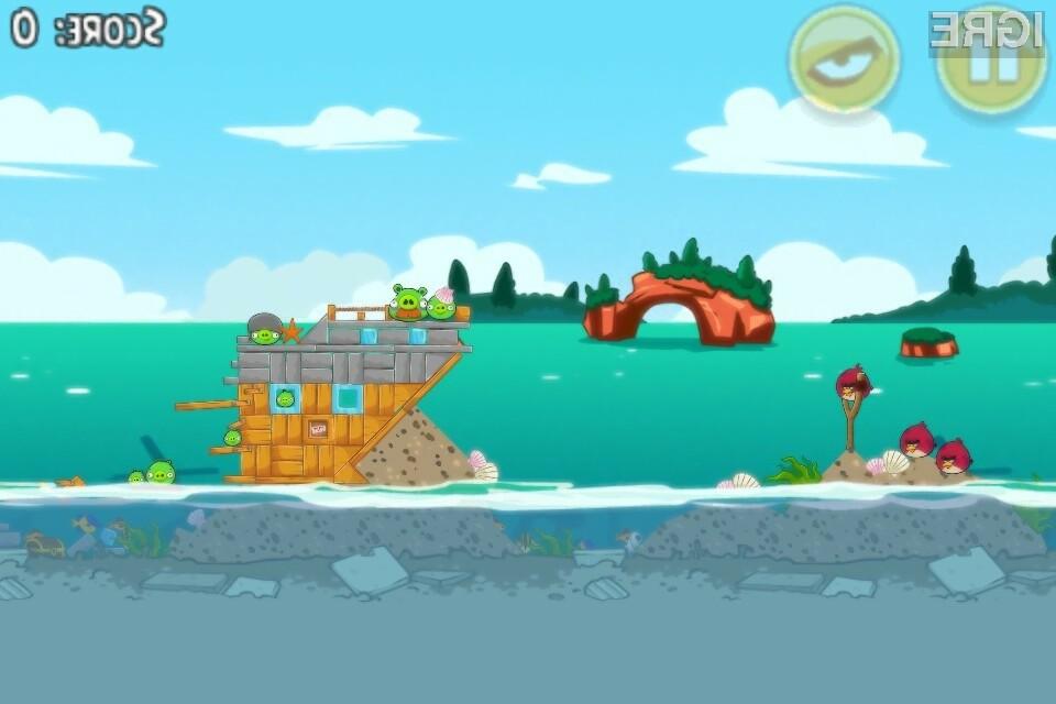 Igre Angry Birds so ene izmed bolj priljubljenih iger na pametnih telefonih.