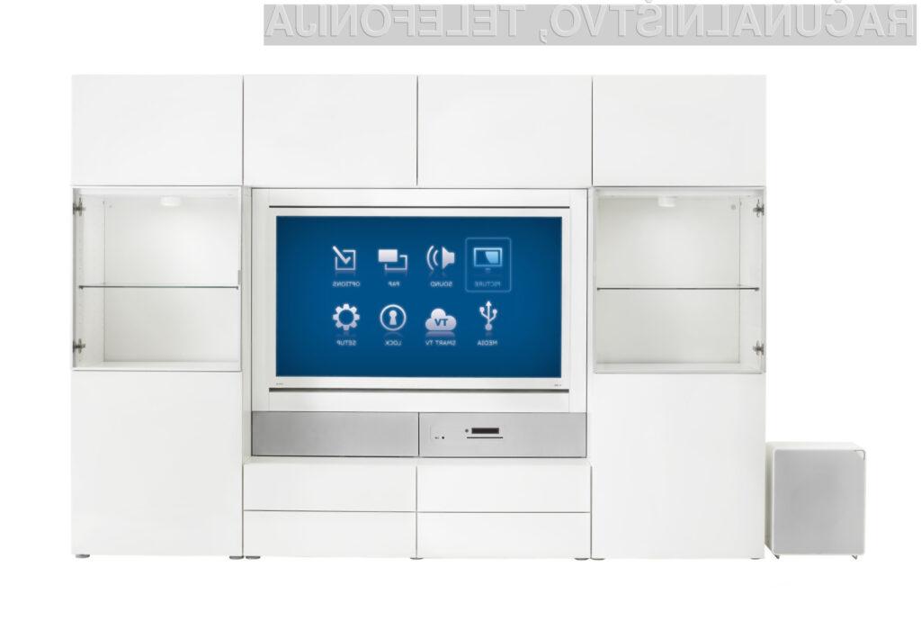 Ikea je v Italiji predstavila vse podrobnosti povezane z integrirano linijo televizorjev Uppleva.