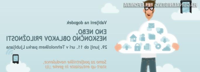 Ste startup, geek, ali podjetniški navdušenec? Razvijate mobilne ali spletne rešitve in sanjate o milijonih uporabnikov in tisočih evrov prihodkov?