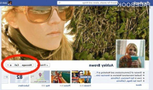 Facebook želi video klice na vsak način približati svojim uporabnikom.