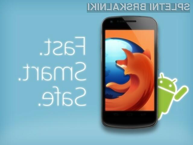 Mozilla Firefox za Android je hiter kot strela!