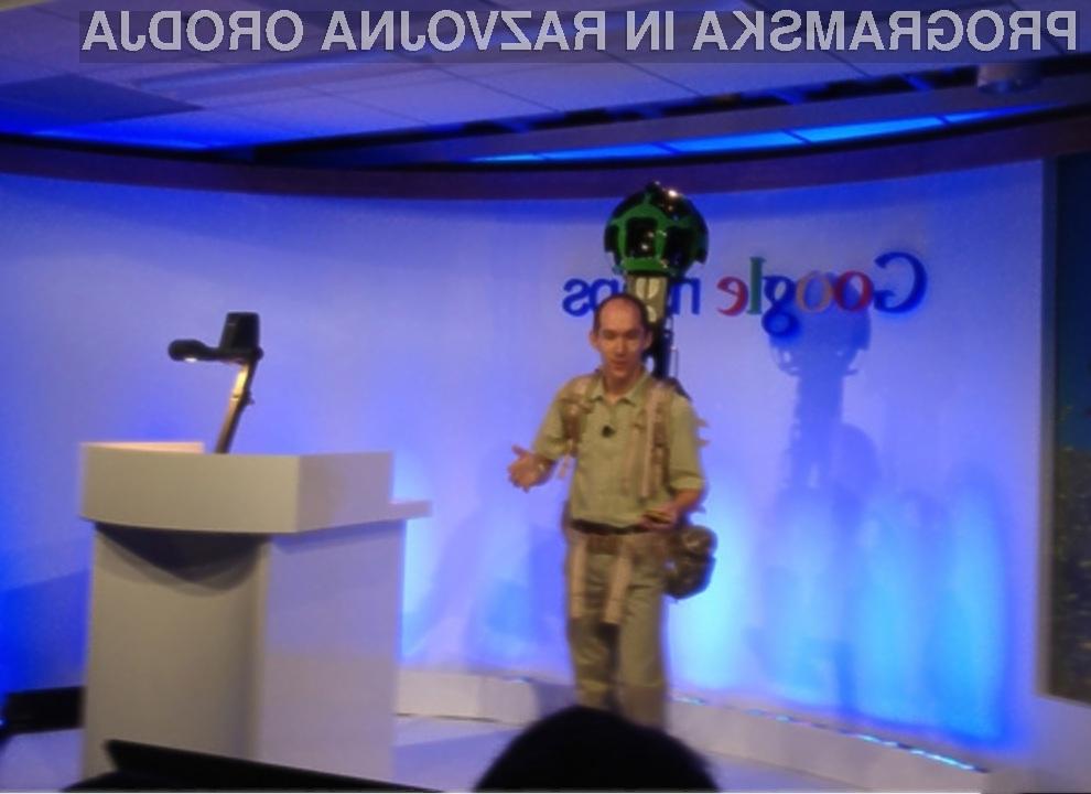 Kamera Google Street View Trekker lahko posname tudi najbolj oddaljen kotiček na modrem planetu!