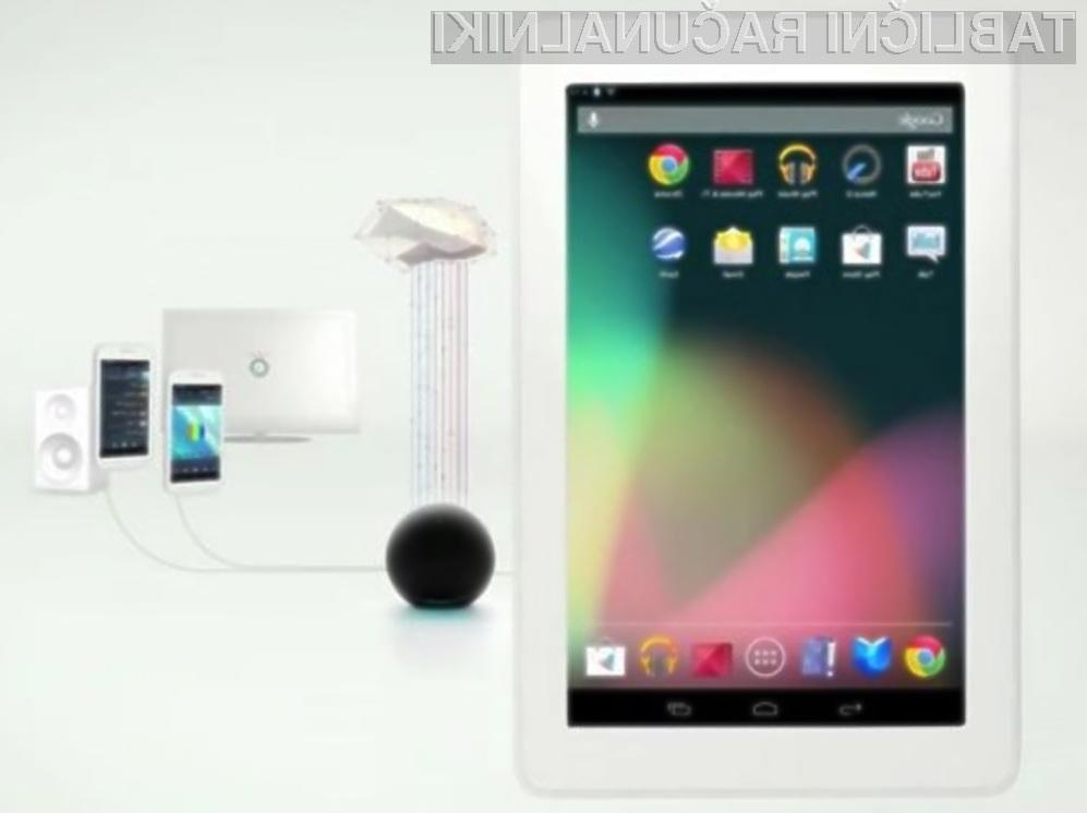 Google Nexus Q omogoča, da skupaj s prijatelji oblikujemo seznam glasbe ali videoposnetkov.