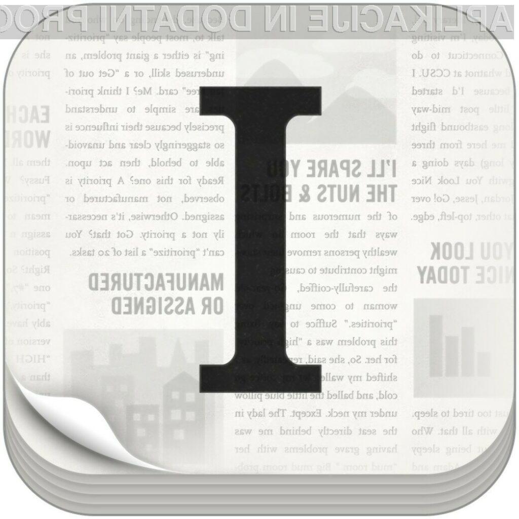 Instapaper je od danes naprej na voljo tudi za operacijski sistem Android.