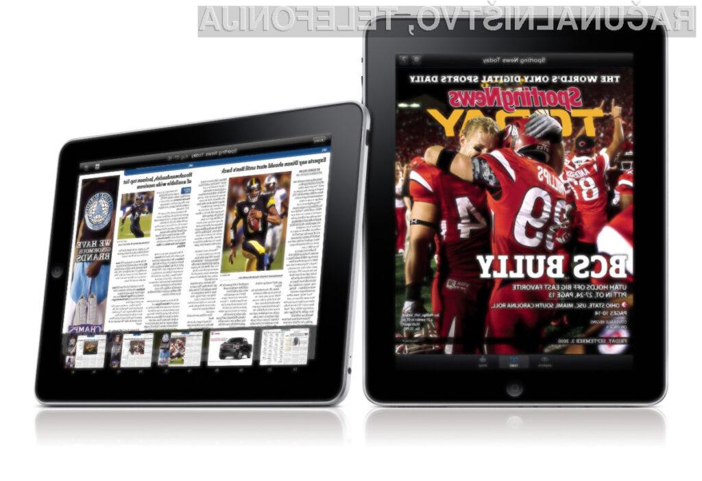 iPad je odličen za branje revij.
