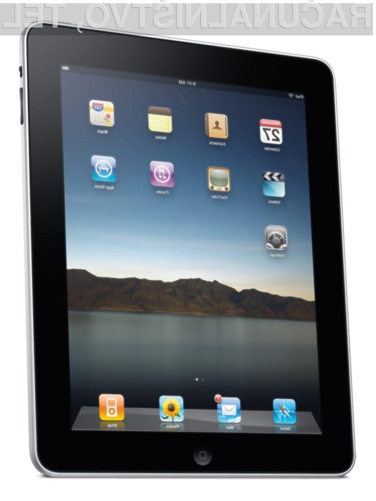 Applov iPad je naprava s katero lahko počnemo marsikaj.
