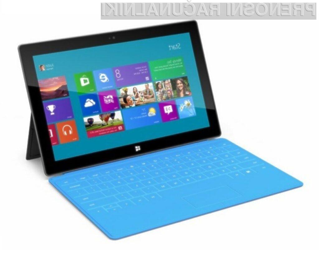 Microsoftov tablični računalnik Surface je vsaj korak pred vso konkurenco!