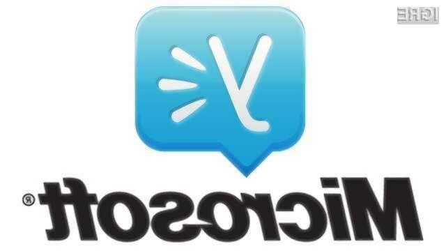 Microsoft je za družbeno omrežje Yammer odštel slabi milijon evrov.