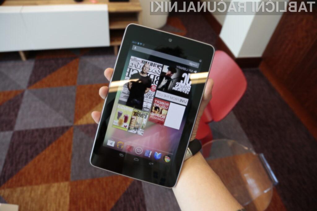 Googlov tablični računalnik Nexus 7 bo mogoče kupiti tudi preko Google Playa.