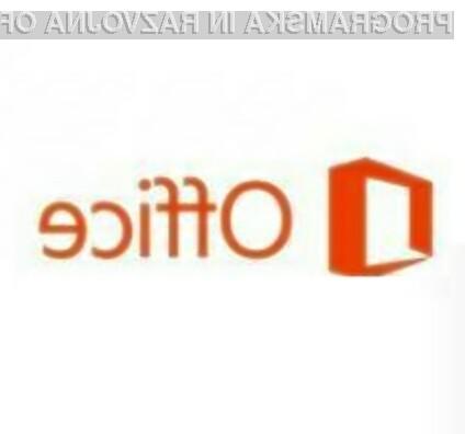 Pisarniški paket Office 2013 RT naj bi prinesel kopico uporabnih novosti!