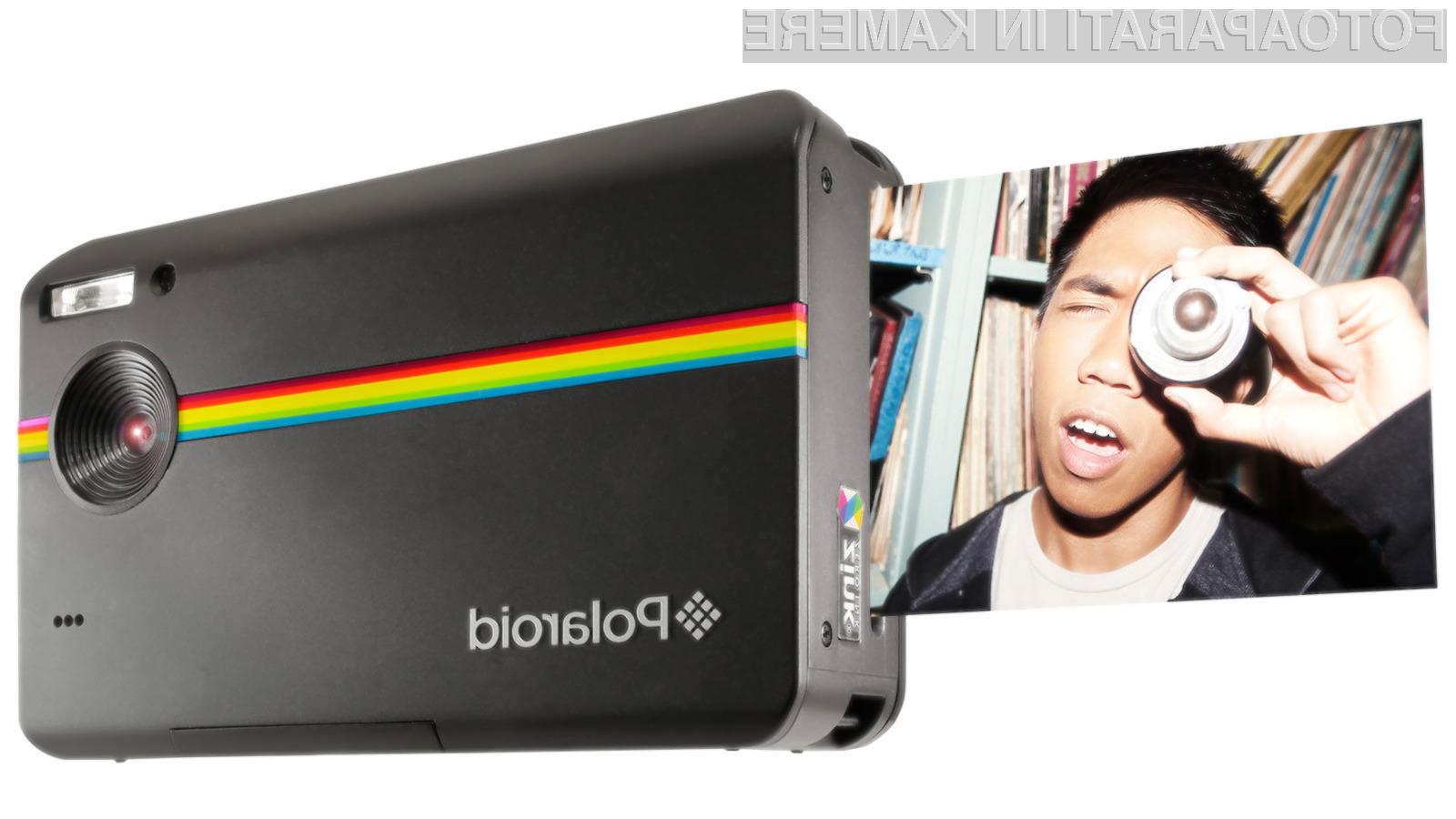 Polaroidi, ki tiskajo so sedaj na voljo tudi v digitalni obliki.