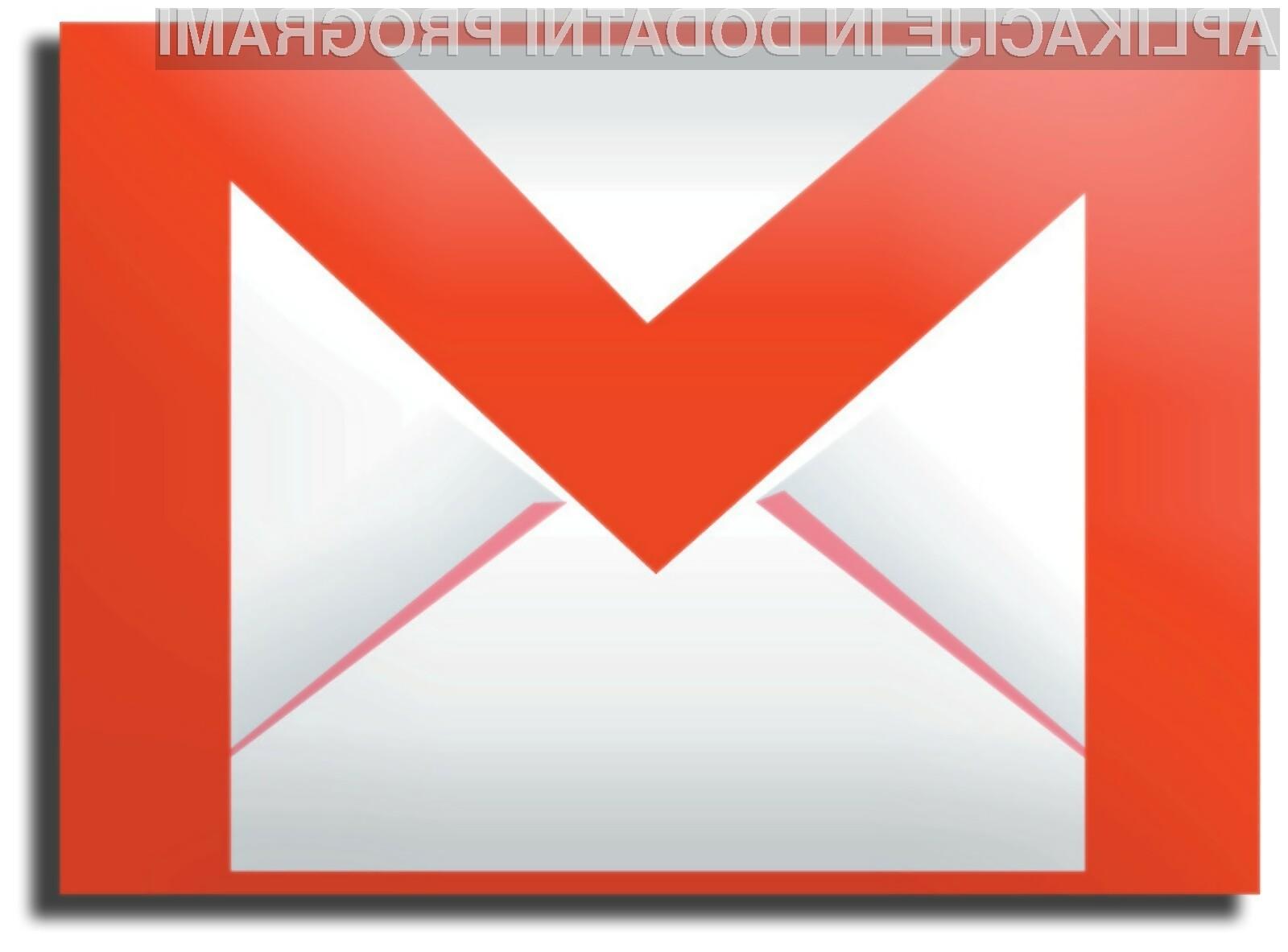 Gmail se je končno povzpel na vrh, a glavna konkurenta mu močno dihata za ovratnik.
