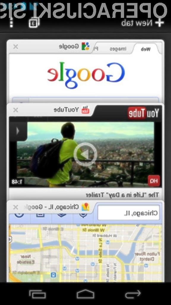 Mobilni brskalnik Google Chrome za Android je hiter, varen in enostaven za uporabo!