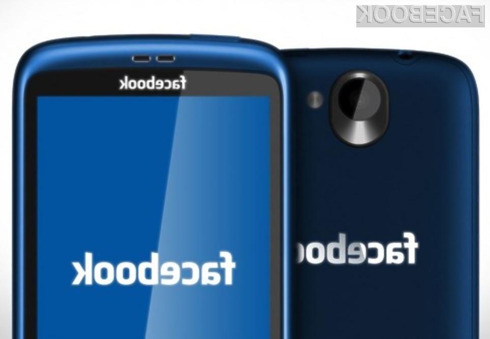 Facebook bo lasten mobilni telefon z lastnim operacijskim sistemom predstavil šele v sredini leta 2013.