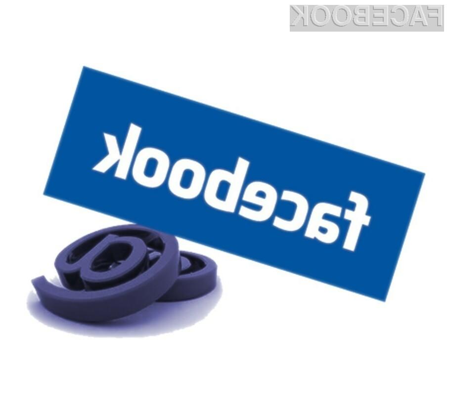 Če elektronske pošte niste prejeli, obstaja zelo velika verjetnost, da je ta obtičala v Facebookovem samostojnem sistemu za e-pošto.
