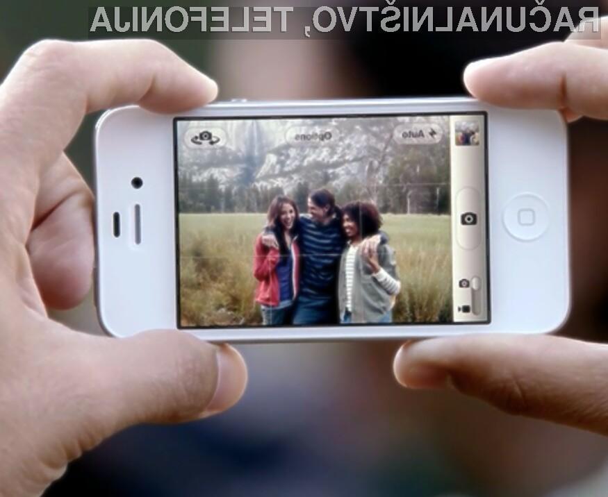 Čeprav novi iPhone 4S razpolaga s kakovostnim digitalnim fotoaparatom, je kakovost fotografij še vedno relativno slaba.