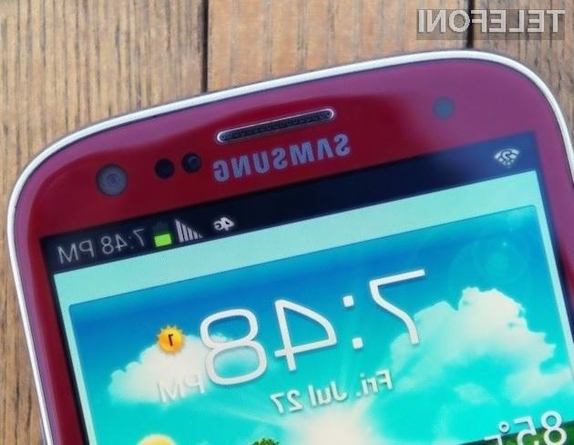 Samsung Galaxy S3 Garnet Red – lepotec in pol!