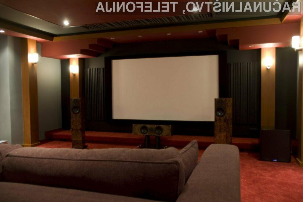 S pomočjo sodobne opreme lahko 3D kino ustvarimo kar v lastnem domu.
