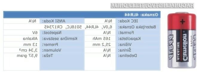 Camelion baterije 4LR44