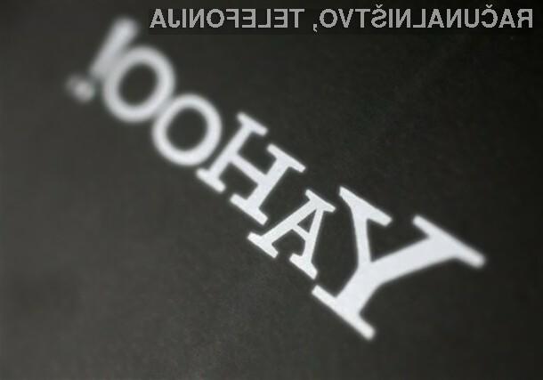 Hekerji razkrili pol milijona gesel uporabnikov Yahooja