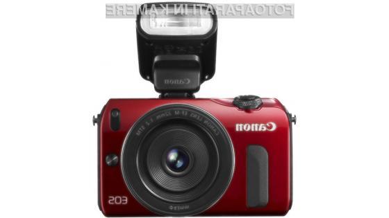 Brezzrcalni digitalni fotoaparat EOS M naj bi bil najboljši v svojem razredu!