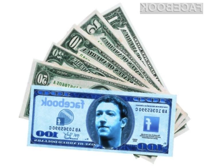 Facebook očitno želi pridobiti še nadzor nad financami njihovih uporabnikov.