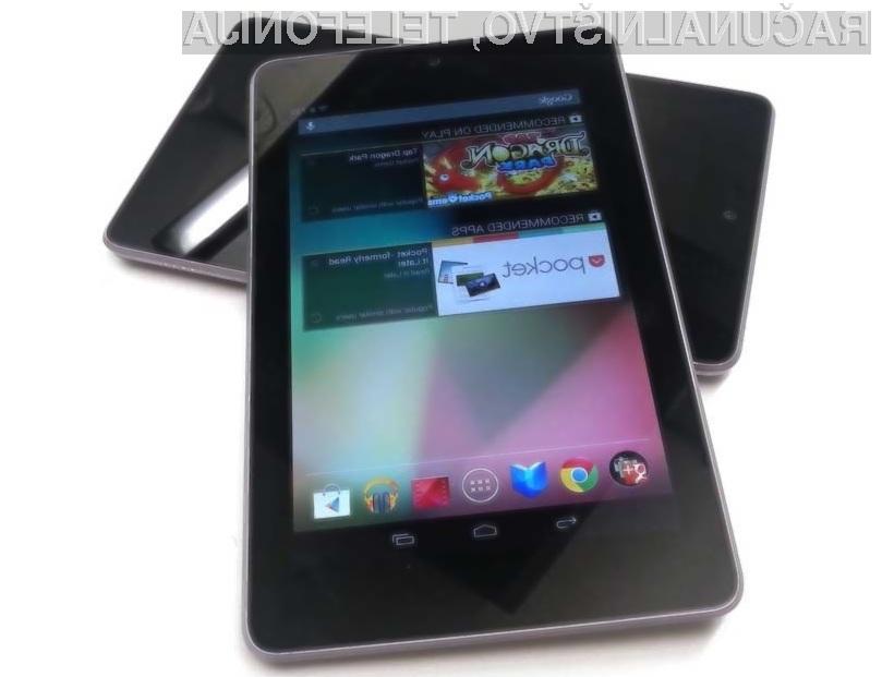 Tablični računalnik Google Nexus 7 je poceni, kompakten in zmogljiv!