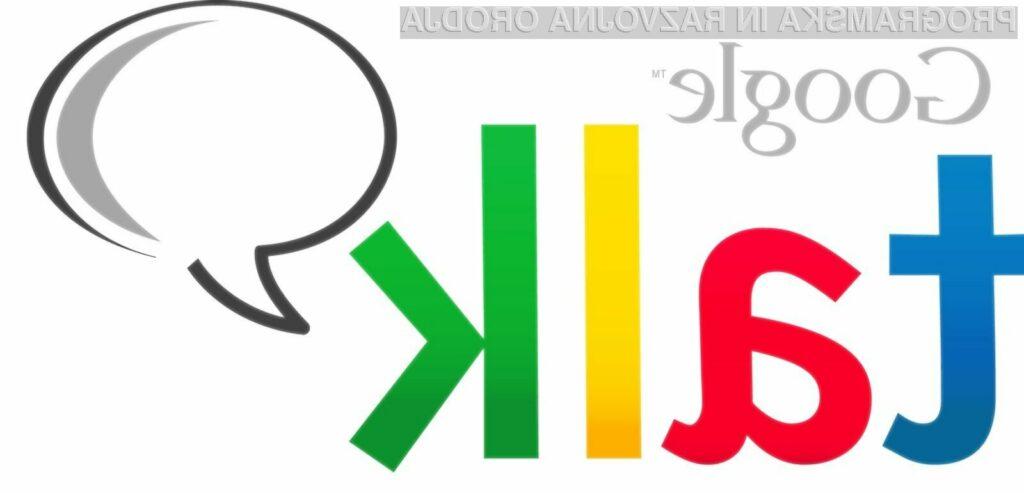 Storitev Google Talk je bila v zadnjih dneh praktično nedostopna.