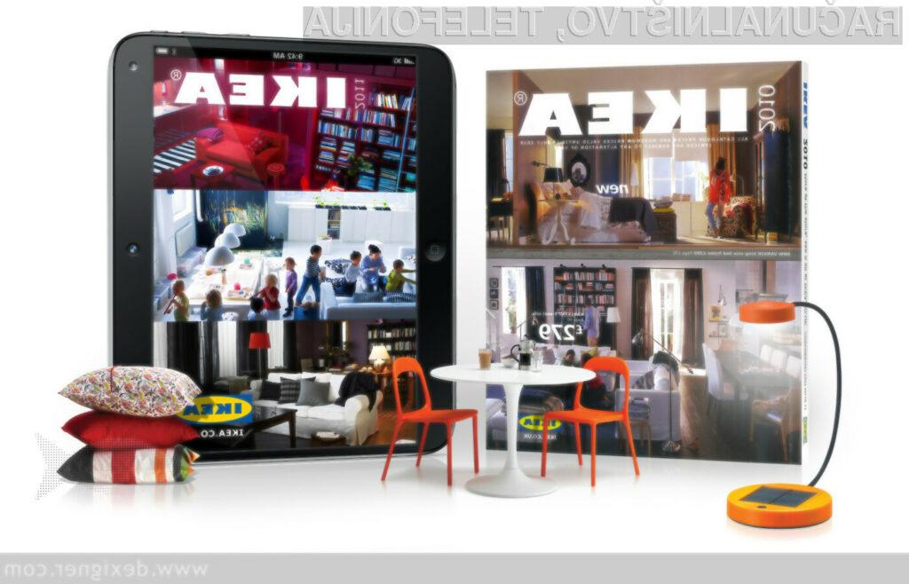 IKEA bo kupcem v svojem katalogu kmalu ponudila funkcije razširjene resničnosti.