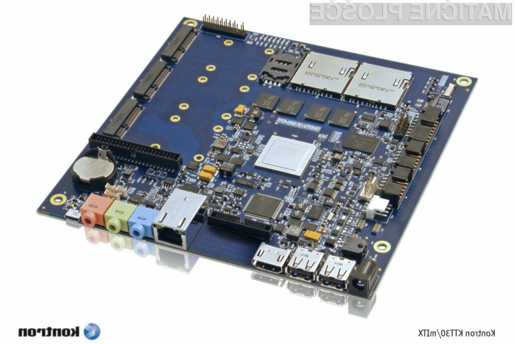 Kontronova matična plošča KTT30/mITX temelji na Nvidijinem Tegra SoC-u z delavno frekvenco 900 MHz