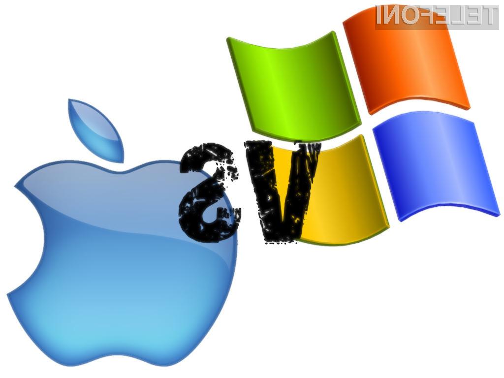 Microsoft proti Applu: Kdo bo koga?