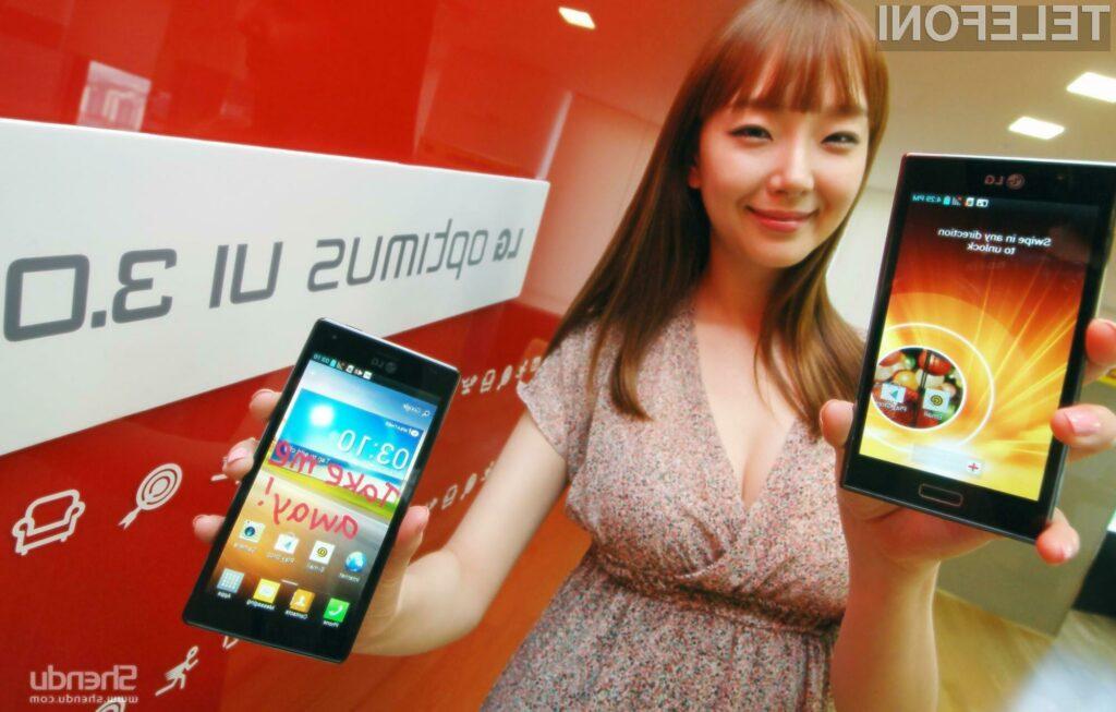 Bo LG z novim mobilnikom končno le dohitel korejski Samsung in tajvanski HTC?