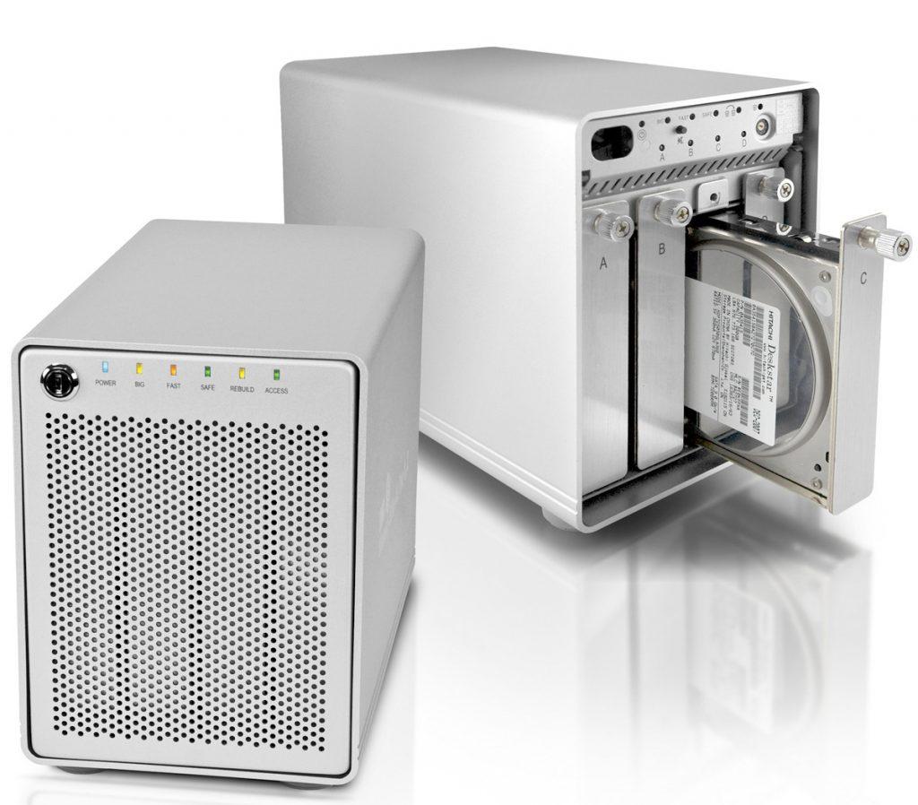 Dandanes sistemi RAID niso več pregrešno dragi in si vsaj osnovne lahko privošči vsak, ki jih potrebuje.