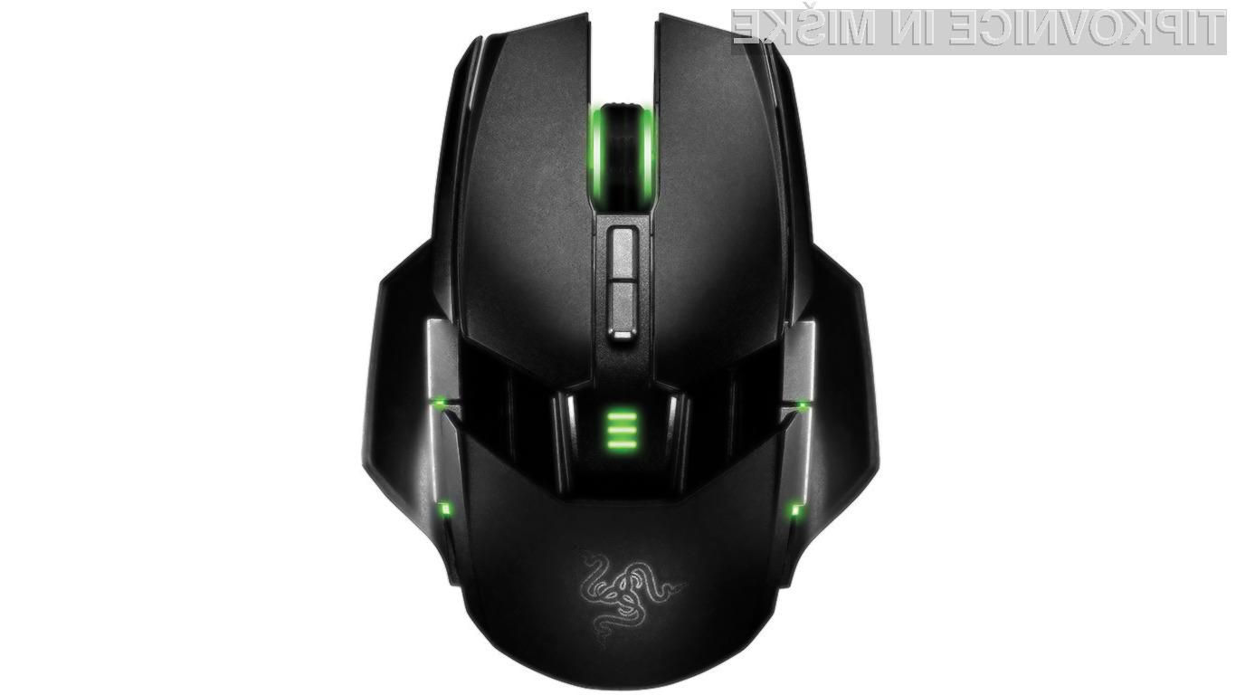 Razerjeva miška Ourobors ja namenjena resničnim ljubiteljem računalniških iger.