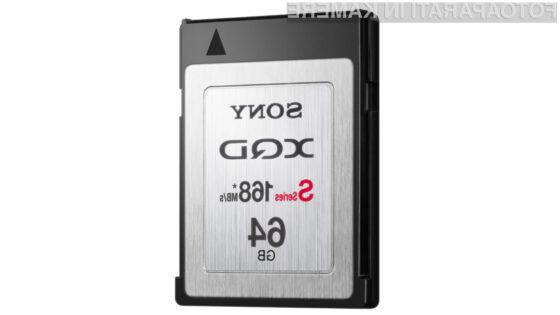 Super hitre XQD kartice so v prvi vrsti namenjene visoko zmogljivim SLR fotoaparatom.